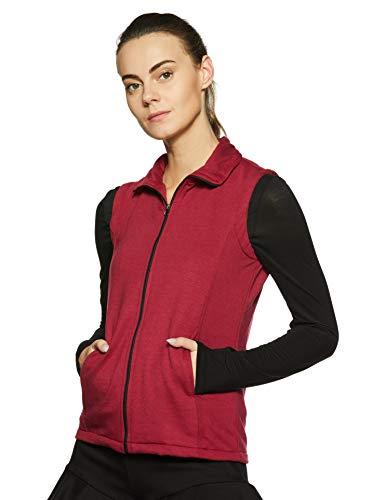 Belle Fille Women's Fleece Jacket  XL, Red