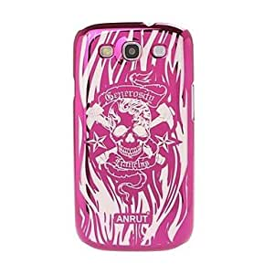 WQQ Skull Pattern Radium Carving Hard Case for Samsung Galaxy S3 i9300 , Silver