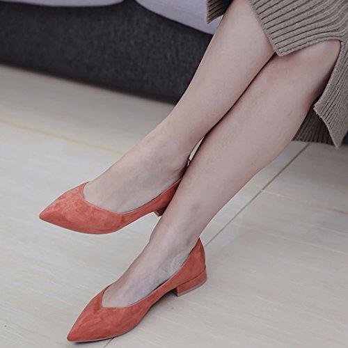 Cuero Todo Tac De Zapatos Oveja De Anti Zapatos De De No Terreno Zapatos Usar De Confort De pelo Piel Planos Moda Zapatos WENJUN aTIwBqxq
