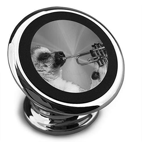 Magnetic Car Phone Mount Holder Lemur Cornet Stands Mobile Bracket 360 Degree Rotation from Dashboard