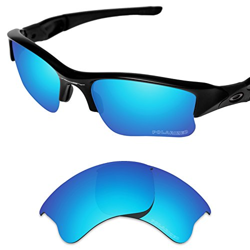 Tintart Performance Replacement Lenses for Oakley Flak Jacket XLJ Polarized - Lenses Flak Golf Oakley Jackets