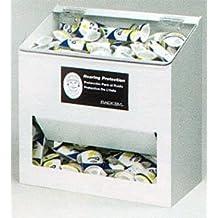 Horizon Manufacturing 5134-W 300-Pair Foam Ear Plug Dispenser - Clear Lid