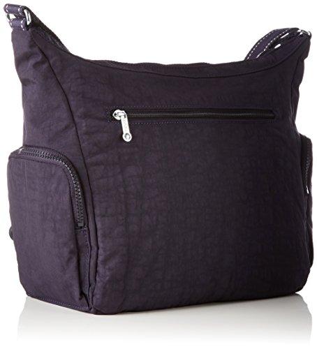 Kipling - Gabbie, Bolsos bandolera Mujer, Violett (Blue Purple C), 35.5x30x18.5 cm (B x H T) Morado (Blue Purple C)
