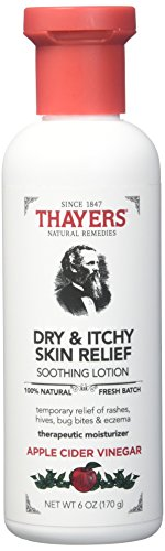 Thayers Dry & Itchy Skin Relief Soothing Lotion, 6 Ounce - Dry Apple