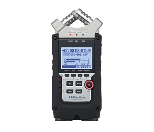 Zoom H4N PRO Digital Multitrack Recorder Zoom H4n Recorder