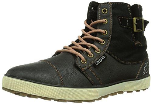 Kappa Metropolis Footwear Men, Synthetic - Zapatillas para hombre Multicolor (1143 BLACK/OFFWHITE)