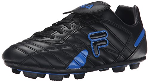Fila Mens Forza III RB Soccer Shoe Black/Prince Blue gSuG89n2