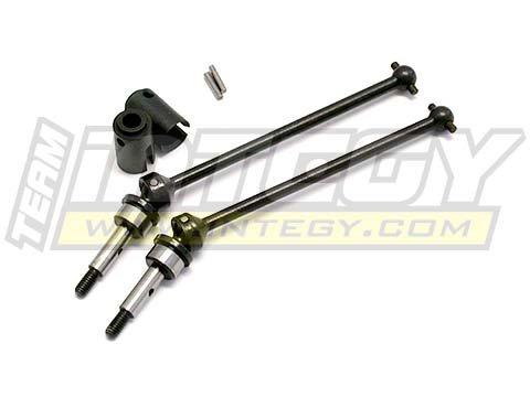 Integy RC Model Hop-ups T7924 Universal Drive Shaft (2) for Traxxas Jato & Jato ()