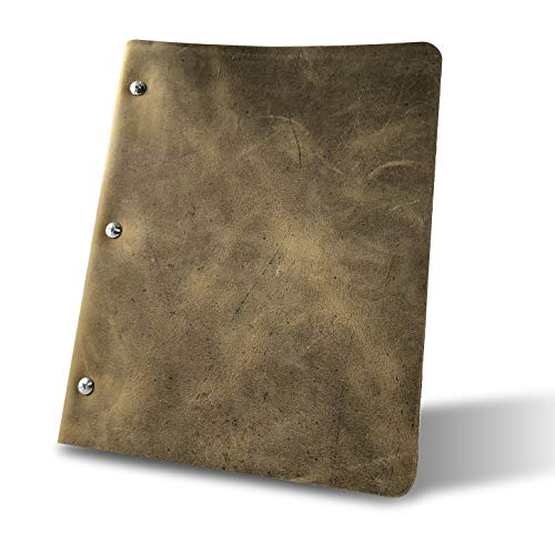 Murdy No. 1 Leather Three Post Binder (Shale)
