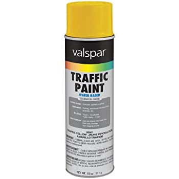 Aervoe 720 Yellow Traffic Striping Paint Spray Paints