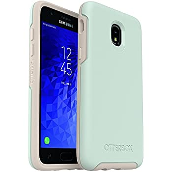 promo code ed52f e68d8 OtterBox Symmetry Series Case for Samsung Galaxy J3/J3 (2018)/J3 V 3rd  gen/J3 3rd gen/Amp Prime 3/J3 Star - Retail Packaging - Muted Waters (SURF  ...