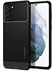 Spigen Rugged Armor Designed for Samsung Galaxy S21 Plus Case (2021) - Matte Black
