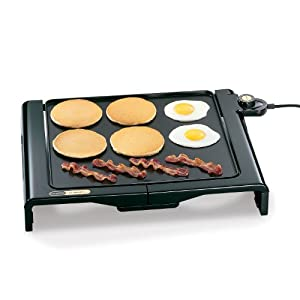 Presto 07050 Cool-Touch Foldaway Griddle, Cooking made easy