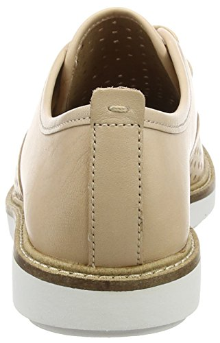 ClarksGlick Resseta - Derby mujer Beige (Nude Leather)