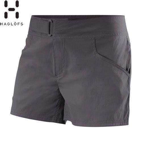 Haglofs - Pantalones cortos para mujer negro