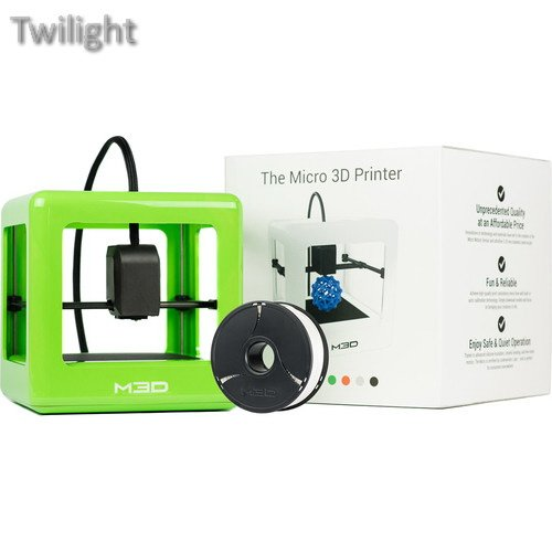 M3D Micro 3D Printer with PLA Neutral Filament Bundle Kit (Green, Retail Edition) Printers Twilight