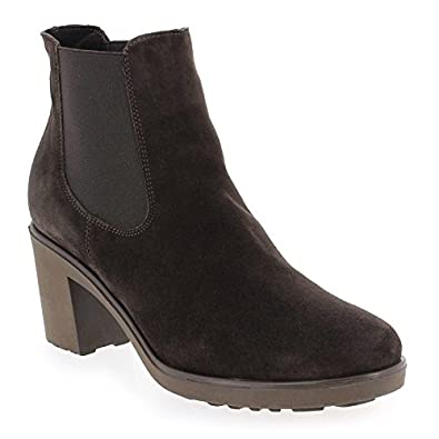 R167 Boots Progetto Cuir En Candile Velours Chaussures CAxnwpgaqn