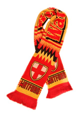 - Watford Fc - Authentic Soccer Fan Scarf, Ships from USA