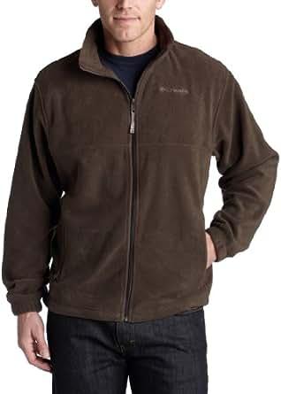 Columbia Men's Steens Mountain Full Zip Fleece Jacket, Cordovan, Small