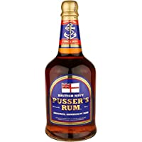 Pussers Blue Label 40 Percent Rum, 70 cl