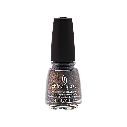China Glaze Nail Lacquer 0.5oz/14ml - PAINT IT BLACK Halloween 18 - Pick color (1638 - Ash & Burn)