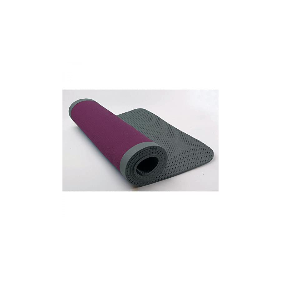 NIKE Ultimate Pilates Mat 8mm, Purple/Grey