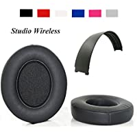 Studio 2.0 Earpads Headband Replacement Ear Cushion Top Band For Beats Studio Wireless Over-Ear Headphones