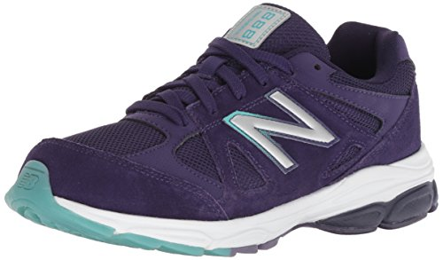 Price comparison product image New Balance Girls' 888v1 Running Shoe,  Blue / Multi,  4 M US Toddler