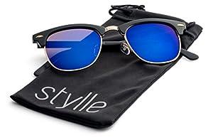 Stylle Clubmaster Inspired Sunglasses