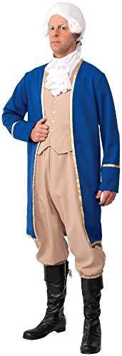 Forum Novelties Men's George Washington Deluxe Costume, Multi, Standard]()
