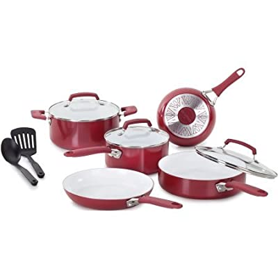 WearEver Pure Living 10-Piece Cookware Set