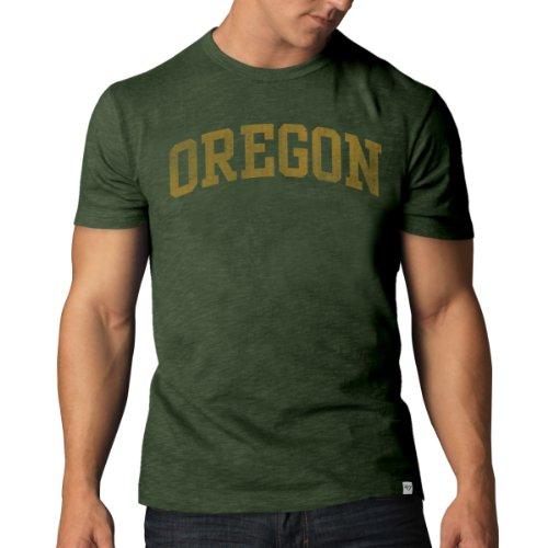 '47 Men's NCAA   Oregon Ducks Basic Scrum T-Shirt, Small (T-shirt Scrum Vintage)