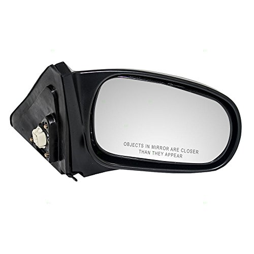 S02 A15 Door (Passengers Power Side View Mirror Smooth Replacement for Honda Coupe 76200-S02-A15)