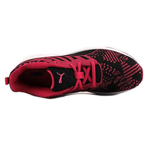Puma Flare Geweven Vrouwen Running Roze-zwart-wit Rode Roos / Zwart / Wit