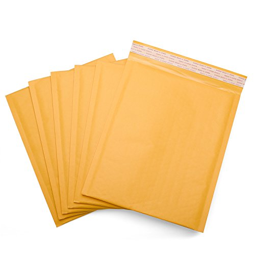 2 Padded Mailers - Fu Global 8.5x12 Inches Kraft Bubble Mailers Padded Envelopes #2 Pack of 25