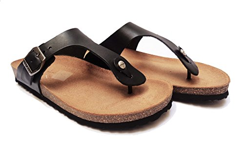FRAU , Damen Sandalen schwarz schwarz 40