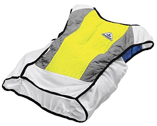 Cooling Sport Vest - HyperKewl Evaporative Cooling Ultra Sport Vest, Hi-Viz Lime, Large