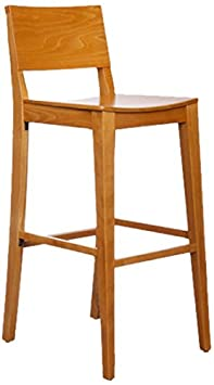 Beechwood Mountain BSD-83B-C Solid Beech Wood Bar Stool in Cherry for Kitchen and dining