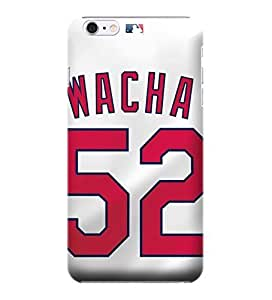 i6 4.7 Shock Proof Case,MLB St. Louis Cardinals Hard Back Shell Case Compatible For iphone 6 4.7