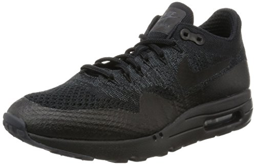 Nike Men's Air Max 1 Ultra Flyknit Black/Black-Anthracite 856958-001 Shoe 10.5 M US Men (Nike Air Max 1 Ultra Flyknit Black)