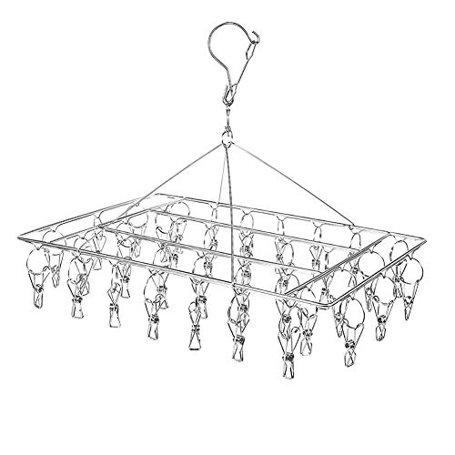 Vorcool 50pcs Spring Hanging Clips Practical Clothespins For Sock Bra Briefs Laundry Supplies