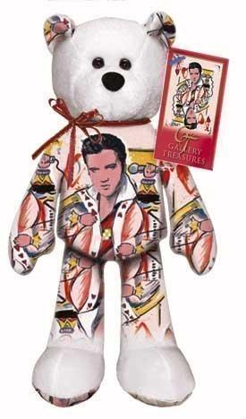 - Limited Treasures Elvis Presley King of Hearts Bear #005