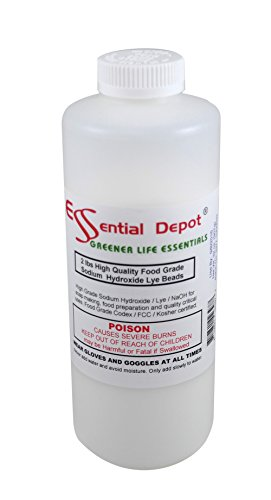 Check expert advices for essential depot lye for soap making?