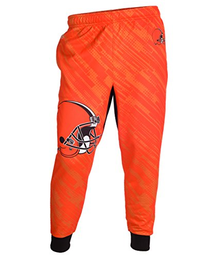 Cleveland Browns NFL Football Mens Cuffed Jogger Pants
