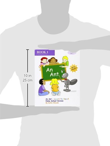 An Ant - Learn to Read, Book 1, Home School Version: By REAL ...