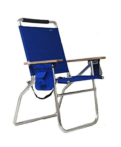 - RIO Gear Rio Brands Hi-boy Beach Chair (Blue) Pkg/1