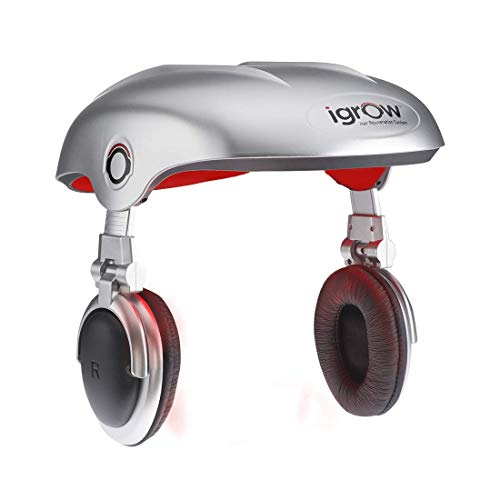 - iGrow Laser Hair Growth Helmet: Restoration & Regrowth Treatment System for Hair Loss - Natural Thinning, Balding, and Alopecia Solution for Men and Women - FDA Cleared Low Level Laser Device