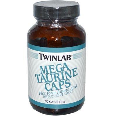 Twinlab Mega Taurine Caps - 1000 Mg - 50 Capsules