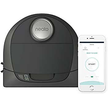 Neato Botvac D5 Connected Navigating Robot Vacuum, Pet & Allergy, Works with Amazon Alexa