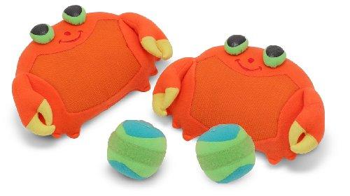 Melissa & Doug Sunny Patch Clicker Crab Toss & Grip Game by Melissa & Doug